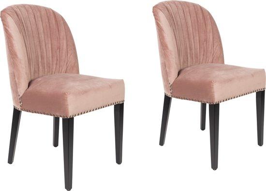 Oud Roze Fauteuil : Bol dutchbone cassidy stoel oudroze set van
