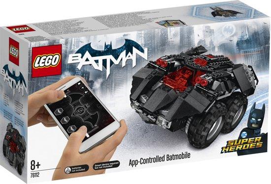 LEGO Super Heroes Batmobiel met App-bediening - 76112