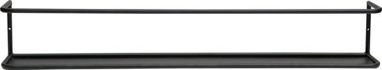 Wandplank Zwart Metaal.Bol Com Woood Wandplank Myrthe 80cm Zwart Metaal