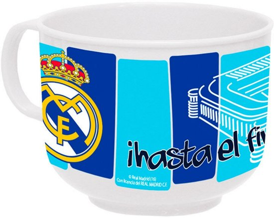 Real Madrid Plastic Tas Groot 1902