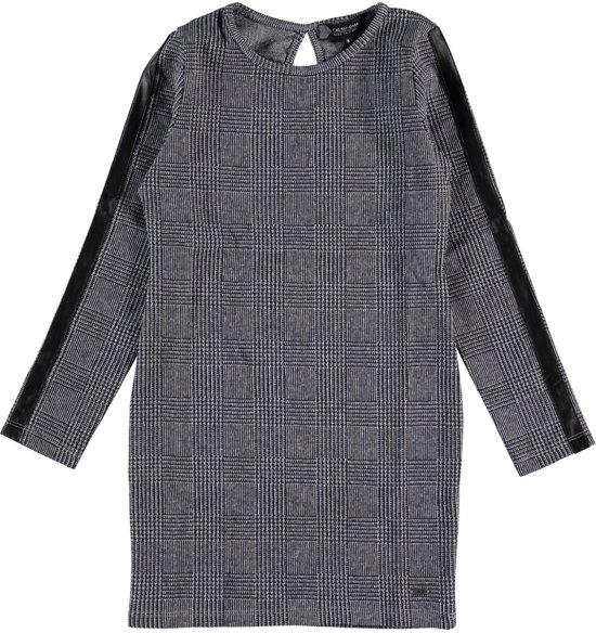 denim jurk grijs