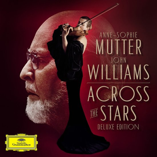 CD cover van Across The Stars (Deluxe Edition) van Anne-Sophie Mutter