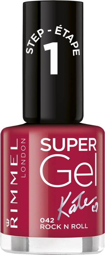 Rimmel London SuperGel by Kate Gelnagellak- 042 Rock N Roll