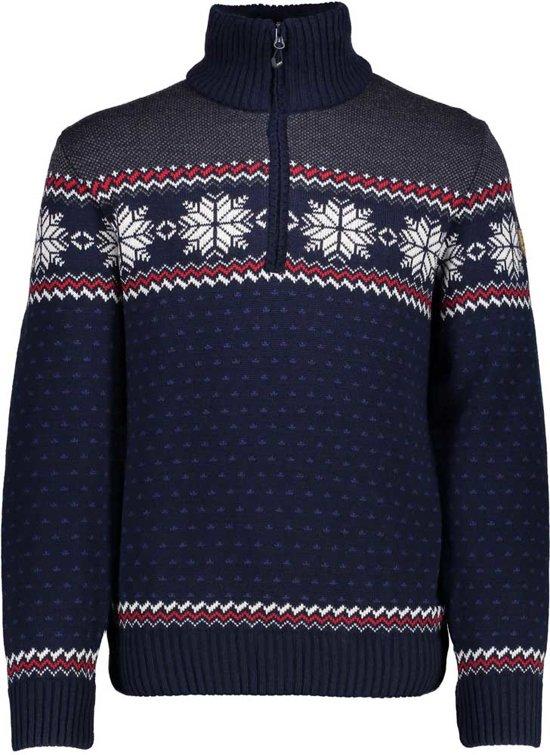 bol | cmp knitted pullover trui - noorse trui - heren - anarak