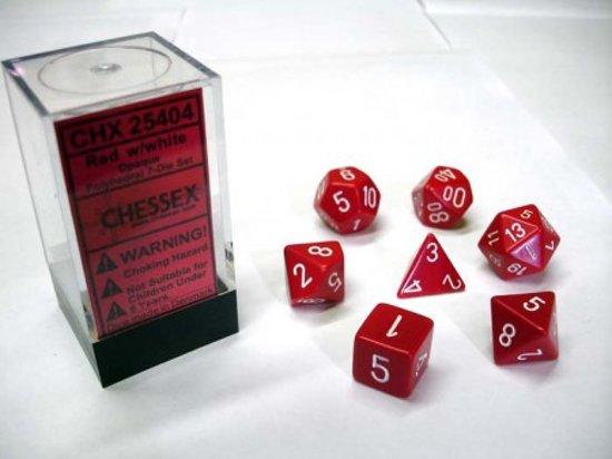 7-delige Polydice / dobbelstenen Set voor Dungeons & Dragons  Gemêleerd Zwart-Groen