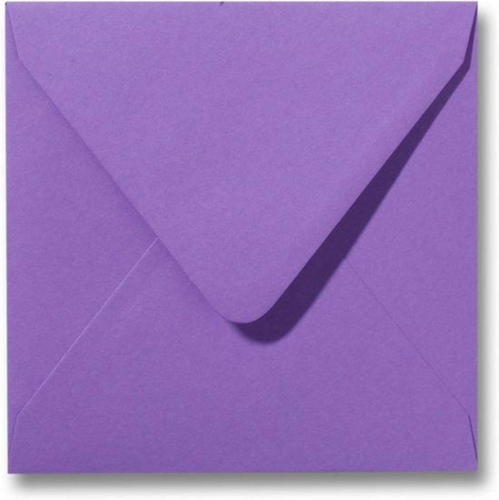 Envelop 14 X 14 Paars, 100 stuks