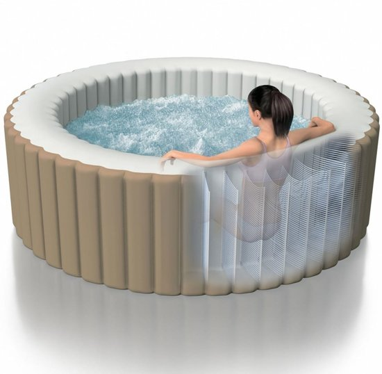Intex PureSpa Opblaasbare spa met bubbelmassage 196x71 cm 28404NL