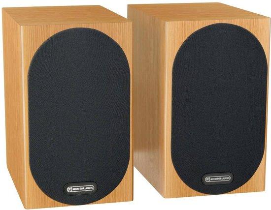 Monitor Audio Silver 50 - Boekenplank Speaker - Natural Oak