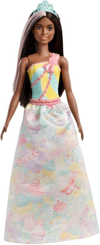 Barbie Dreamtopia Prinses Afro American