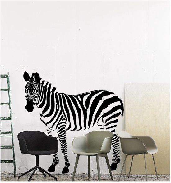 bol.com | Muursticker zebra