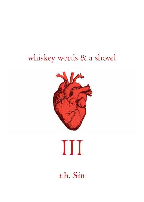 Boek cover Whiskey Words & a Shovel III van r.h. Sin