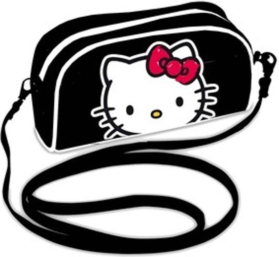 Hello Kitty schoudertasje zwart