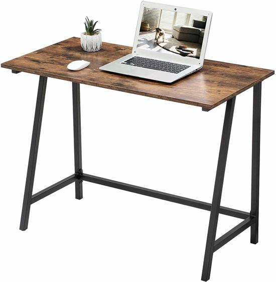 Furnihaus - Computertafel - Bureau - Industrieel - Hout - Metaal - 100x50x75cm
