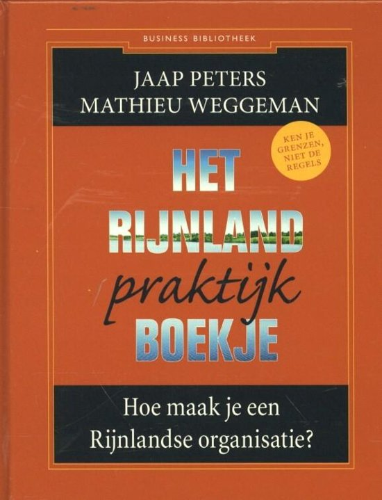 Business Bibliotheek Het Rijnland praktijkboekje