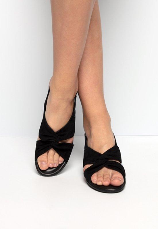  Ecco Shape 35 sandalen zwart
