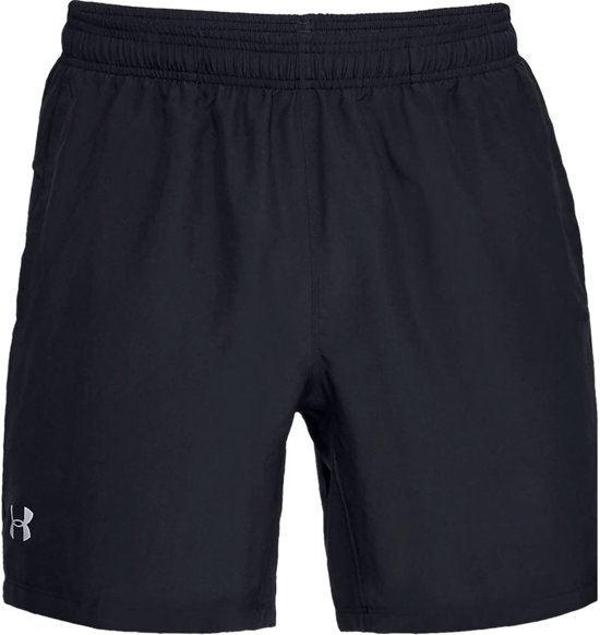 Under Armour Speed Stride 7'' Woven Short Sportbroek Heren - Zwart - Maat L