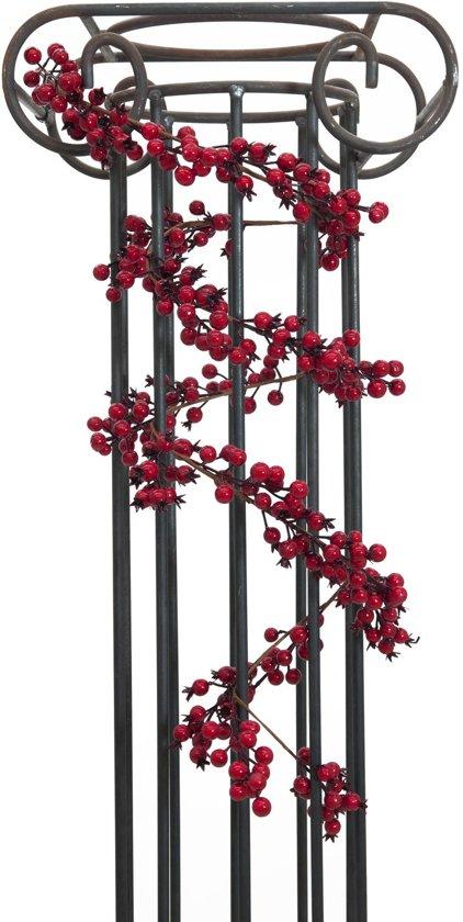 Europalms kunstplant bessen Slinger - rood - 180cm