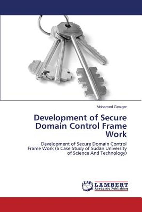 Bolcom Development Of Secure Domain Control Frame Work Geaiger