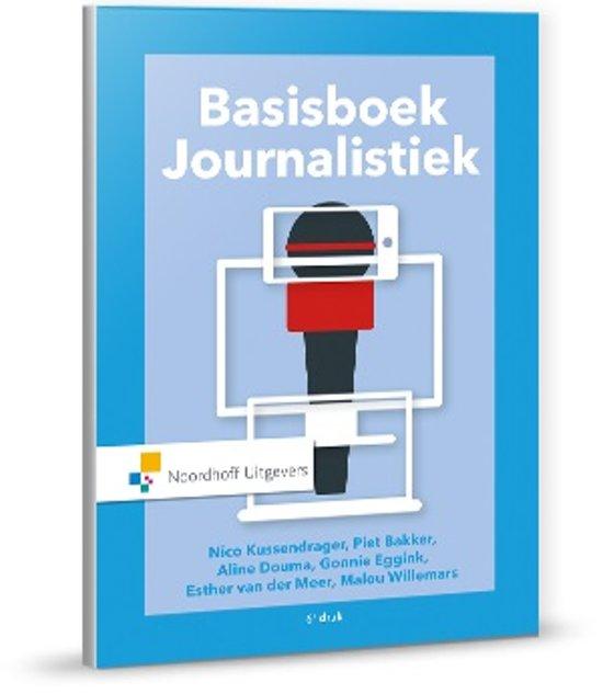 Boek cover Basisboek Journalistiek van Nico Kussendrager (Paperback)
