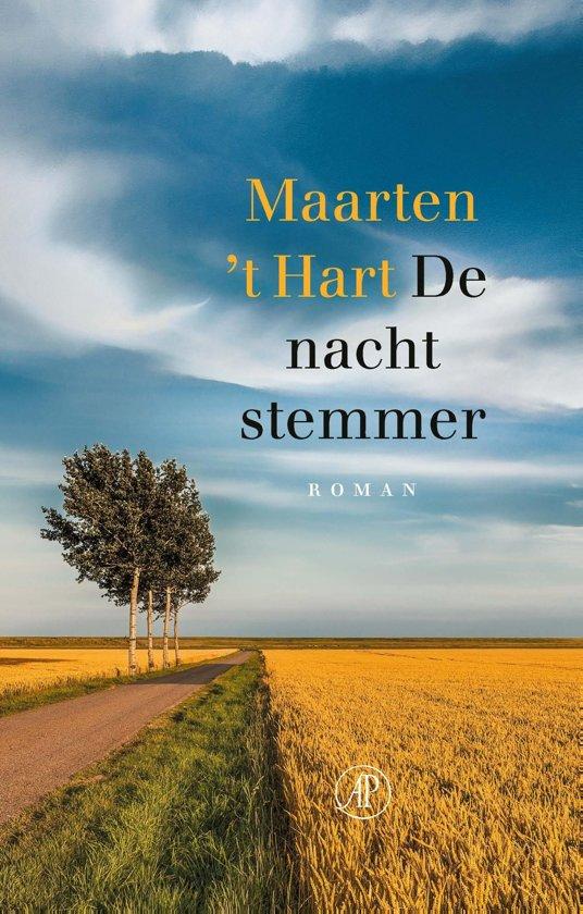 Boek cover De nachtstemmer van Maarten t Hart (Onbekend)