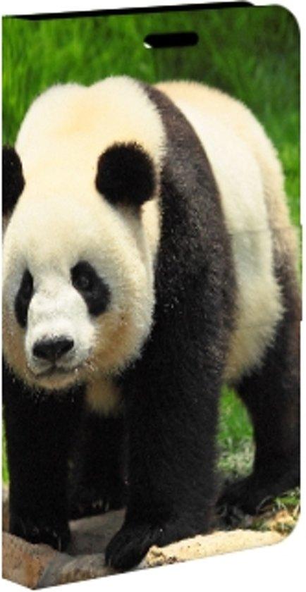 Samsung Galaxy Note 2 Uniek Boekhoesje Panda in Westeind