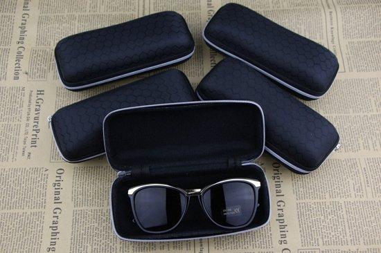 3x Hardcover Brillenhouder - Brilhouder - Bril & Zonnebril Koker