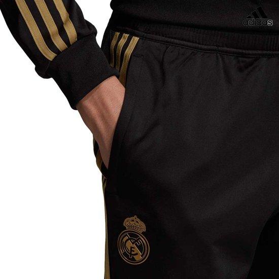 adidas Real Madrid trainingspak heren zwart/goud