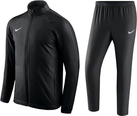 Nike Dry Academy18 Trk Suit W Trainingspak Heren - Zwart/Zwart/Anthracite/Wit