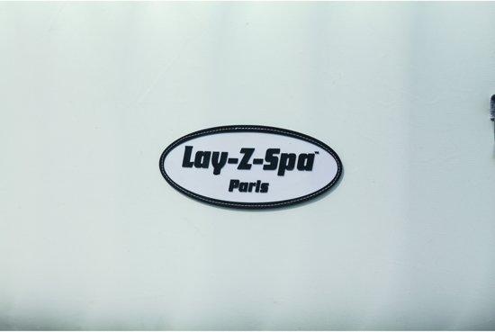 Beliani Whirlpool Paris grijs - Vinyl