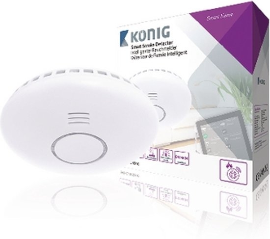 Smart Smoke Detector 868 MHz