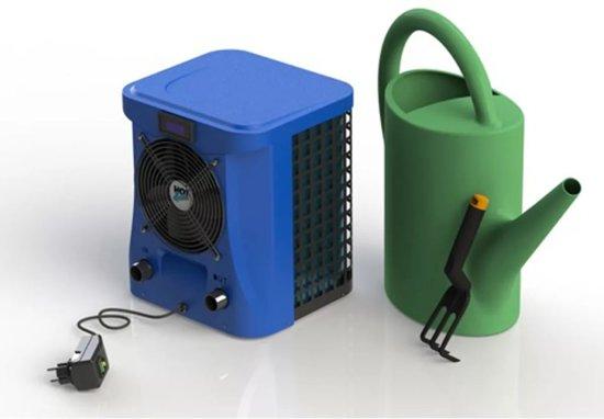 Hot Splash compacte warmtepomp 2,4kW tot max. 10m³