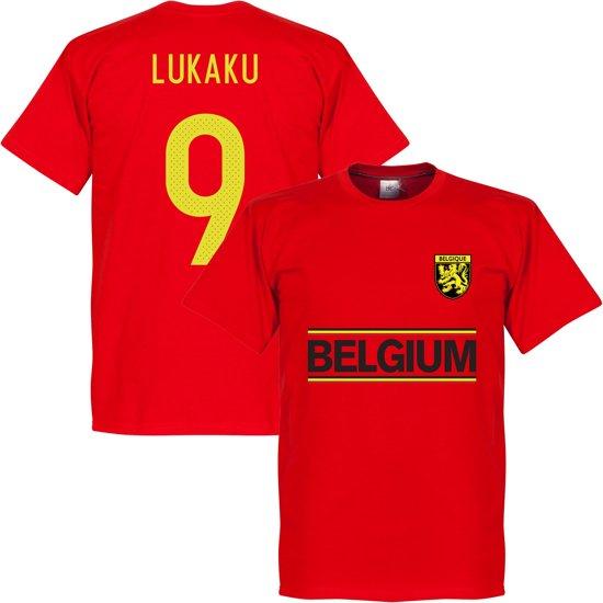 België Lukaku Team T-Shirt - L