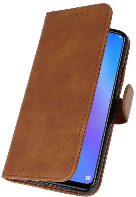 Huawei P Smart Plus Bruin | bookstyle / book case/ wallet case Wallet Cases Hoes  | WN™