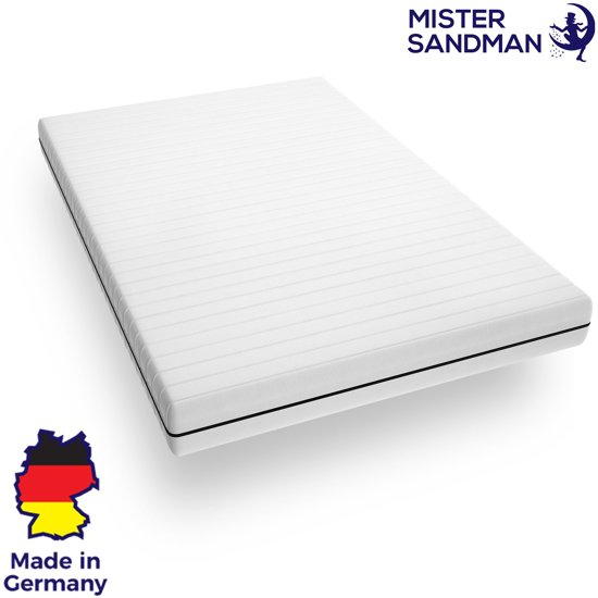 Matras - 120x200 - 7 zones - koudschuim - premium plus tijk - 15 cm - twijfelaar bed