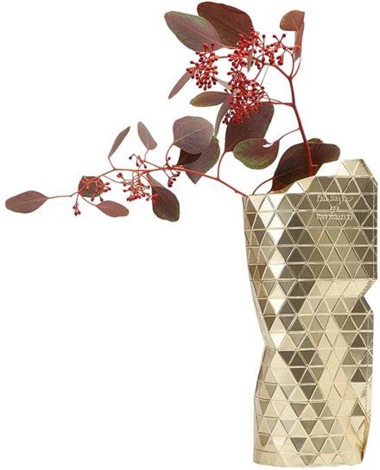 Pepe Heykoop - Paper vase cover - Gold - Small