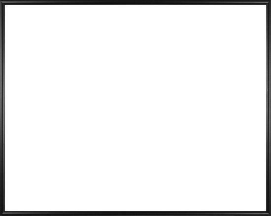 Homedecoration Easy – Fotolijst – Fotomaat 34x37 cm – Kunststof – Zwart mat