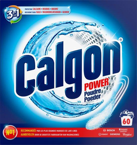 Calgon 2 in 1 Tabs Ontkalkingspoeder voor Wasmachines - 60 doses