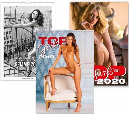 Erotiek C279-18-19-20 Kalpa 3 wand kalenders 2018 2019 en 2020