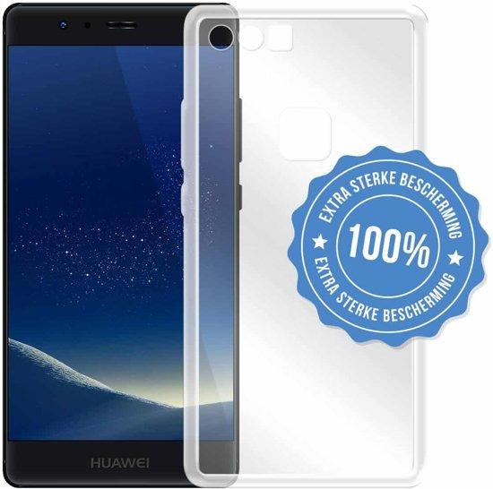 Doorzichtig TPU Siliconen hoesje voor Huawei Y6 2018