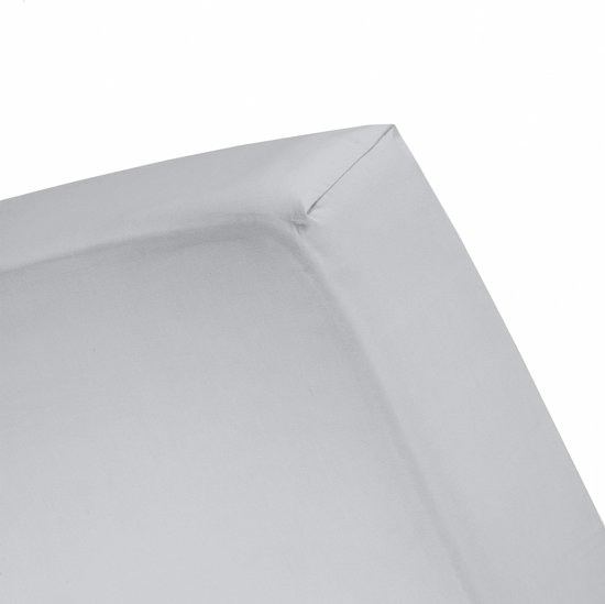 Cinderella - Hoeslaken (tot 25 cm) - Jersey - 180x210/220 cm - Light grey