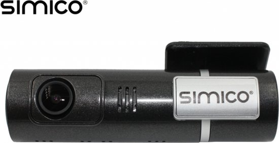 SIMICO Dashcam RoadView 16GB met WiFi functie G-sensor en 1080P resolutie