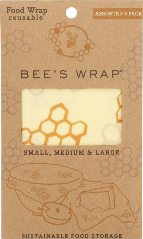 Bee's Wrap Bijenwas Doekjes - Starter Pack (3 Stuks)