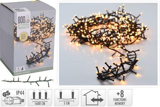 Kerstverlichting met Controller - 800 LED's - Extra Warm Wit - 16 Meter