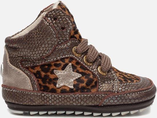 Shoesme Leren lopen schoenen bruin