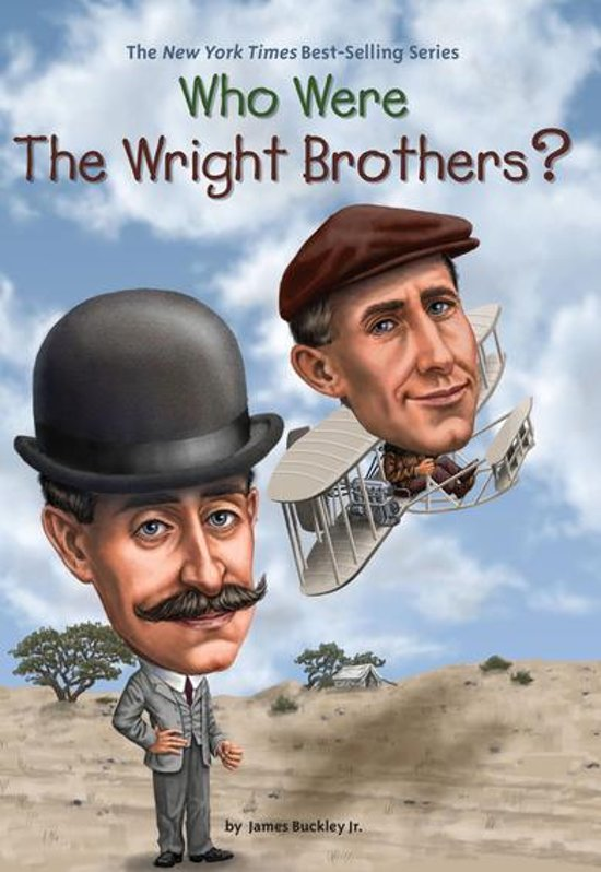 Boek cover Who Were the Wright Brothers? van James Buckley Jr. (Onbekend)