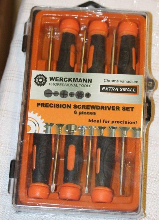 Werckmann Precisie schroevendraaierset extra small