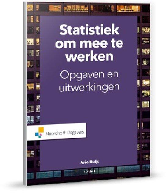 Statistiek om mee te werken - Arie Buijs