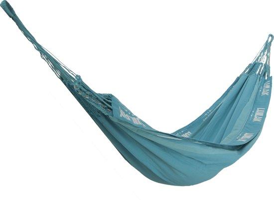 Hangmat - Magnifico - Blauw - Met bevestigingsset - Luilak