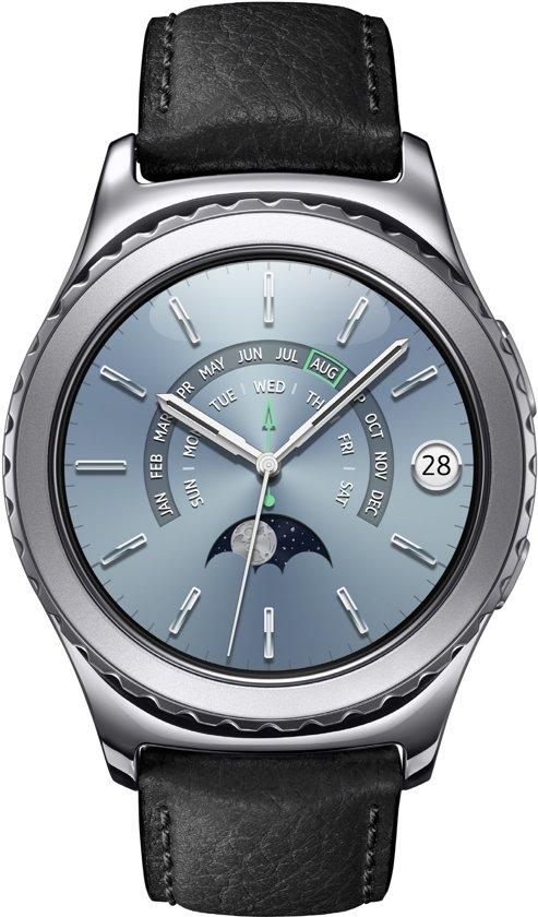 Samsung Gear S2 Classic smartwatch - Platinum