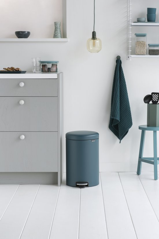 Brabantia NewIcon Pedaalemmer 20 L Reflective Blue